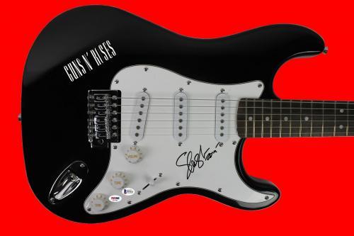 Slash Guns N' Roses Signed Electric Guitar Autographed BAS #B91622