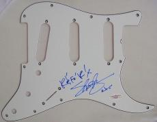 Slash Guns N Roses Signed Fender Strat Pick Guard JSA