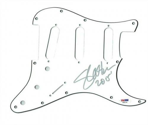 Slash Guns Roses GnR Autographed Signed Guitar Pickguard Authentic PSA/DNA