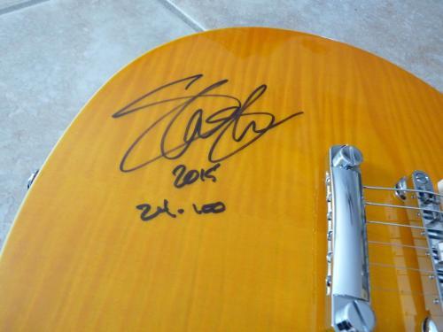 Slash Guns Roses GNR Limited Signed Signature Model Guitar Pack Amp Bag #24/100