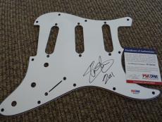 Slash Guns & Roses GNR Signed Autographed Guitar Pickguard Pick PSA Certified