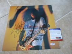 Slash Guns & Roses Signed Autographed 13x13 Tour Book Photo PSA Certified