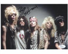 SLASH HAND SIGNED 8x10 COLOR PHOTO+COA        AWESOME   GUNS+ROSES        TO BOB