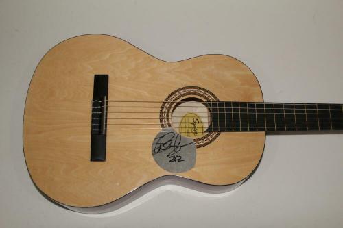 Slash Signed Autograph Fender Brand Acoustic Guitar - Guns N' Roses, Rare!
