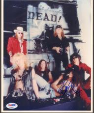 "SLASH Signed Autographed ""GUNS N' ROSES"" GNR 8x10 Photo PSA/DNA #AC80977"