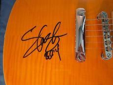 Slash Signed Autographed Les Paul Electric Guitar Psa Dna Coa Autograph Gnr 2014