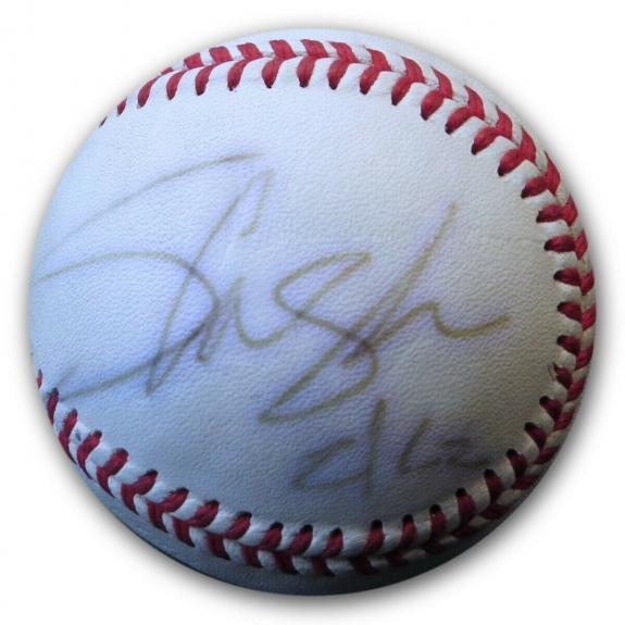 Slash Signed Autographed Rawlings Baseball Guns N' Roses Guitarist JSA FF06273