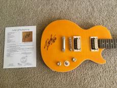 Slash Signed Les Paul Epiphone Slash Model Guitar Guns N Roses JSA LOA