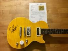 Slash Signed Slash Model Les Paul Epiphone Guitar JSA Coa