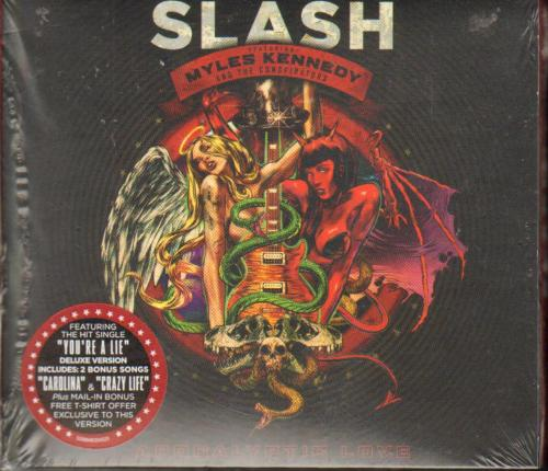 Slash Un-Signed Brand New Apocalyptic Love Cd AFTAL