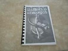 Slash's Snakepit 1995 5 O'Clock USA Canada Concert Tour Itinerary Travel Book