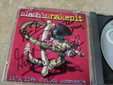Slash's Snakepit GUNS & ROSES Band Signed Autographed CD PSA Guaranteed Slash