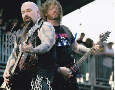 Slayer signed Music 8x10 photo W/Coa #1 Kerry King and Gary Holt