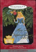 Sleeping Beauty Disney Hand Signed Hallmark Ornament+coa    Signed By Mary Costa