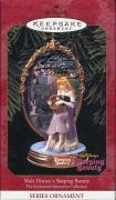 Sleeping Beauty Disney Hand Signed Hallmark Ornament+coa    Signed Mary Costa