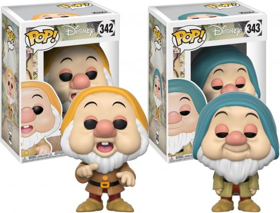 Sleepy & Sneezy Snow White Funko Pop! Bundle