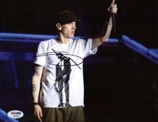 Slim Shady Eminem Signed Autographed 8x10 On Stage Photograph PSA/DNA