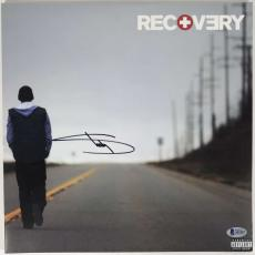 Slim Shady Eminem Signed Autographed Recovery Album LP Beckett BAS