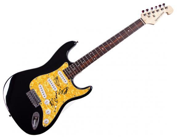 Slipknot Corey Taylor Plus Autographed Guitar RACC TS UACC RD AFTAL