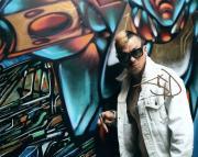 Slipknot Sid Wilson Graffiti Autographed Signed Photo AFTAL UACC RD