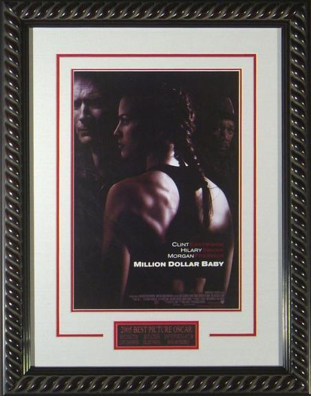 Million Dollar Baby Masterprint Poster Framed.