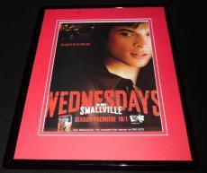 Smallville 2003 The WB Framed 11x14 ORIGINAL Advertisement