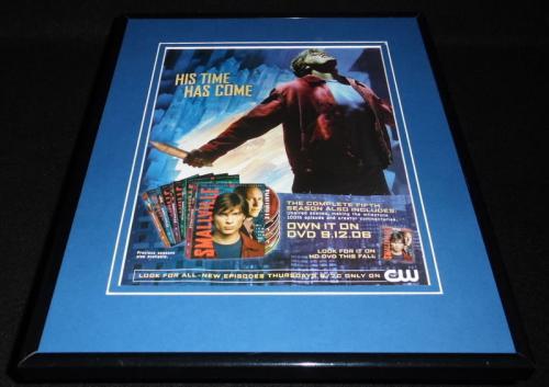 Smallville 2006 11x14 Framed ORIGINAL Vintage Advertisement The CW