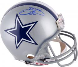 Emmitt Smith Dallas Cowboys Autographed Pro-Line Authentic Helmet with Blue Ink