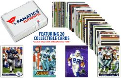 Emmitt Smith Dallas Cowboys Collectible Lot of 20 NFL Trading Cards - Mounted Memories