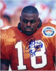 Emory Smith Clemson Tigers Autographed 8'' x 10'' Photograph - Mounted Memories