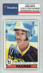 Ozzie Smith San Diego Padres Autographed 1979 Topps #116 Rookie Card  - Mounted Memories