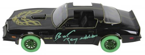 Smokey and the Bandit Burt Reynolds Signed 1:24 Die Cast 1977 Trans Am JSA