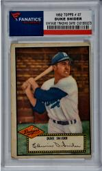 Duke Snider Los Angeles Dodgers 1952 Topps #37 Card - Mounted Memories