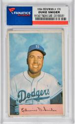 SNIDER, DUKE (1954 BOWMAN # 170) CARD - Mounted Memories
