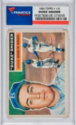 SNIDER, DUKE (1956 TOPPS # 150) CARD - Mounted Memories