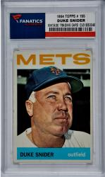 Duke Snider New York Mets 1964 Topps #155 Card