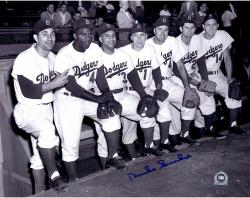 Duke Snider Brooklyn Dodgers Autographed 11'' x 14'' 7 Players Photograph