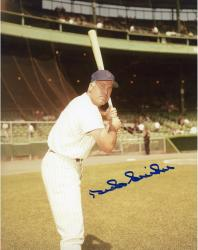 SNIDER, DUKE AUTO (METS/BATTING STANCE) 8X10 PHOTO - Mounted Memories