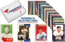 Duke Snider-Los Angeles Dodgers-Collectible Lot of 20 MLB Trading Cards - Mounted Memories