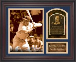 "Duke Snider Baseball Hall of Fame Framed 15"" x 17"" Collage with Facsimile Signature  - Mounted Memories"