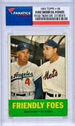 SNIDER, DUKE / HODGES, GIL ( 1963 TOPPS # 68) CARD - Mounted Memories
