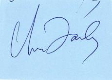 SNL Chris Farley Signed Autographed 1x3 Album Page Beckett BAS MINT 9