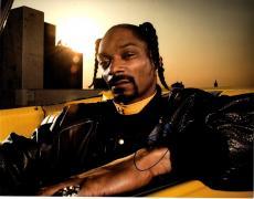 Snoop Dogg Autographed 11x14 Photo Exact Vid Proof AFTAL UACC RD COA