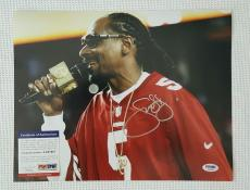 SNOOP DOGG Autographed 11x14 Photo. PSA