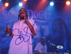 "Snoop Dogg Autographed 8"" x 10"" Smoking Photograph - Beckett COA"