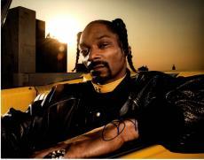 Snoop Dogg Autographed Signed 11x14 Stoned Photo UACC RD COA AFTAL