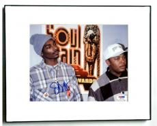 Snoop Dogg Autographed Soul Train Awards Photo & Proof PSA AFTAL