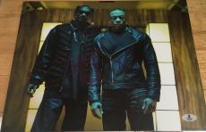 Snoop Dogg & Dr. Dre Signed Autograph Classic Rap Legends Rare Photo Proof Bas