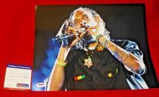 SNOOP DOGG lion rapper signed PSA/DNA 11X14 photo