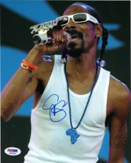 Snoop Dogg RAP LEGEND ICON Signed 8x10 Photo PSA/DNA COA